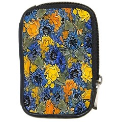 Floral Pattern Background Compact Camera Cases