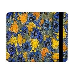 Floral Pattern Background Samsung Galaxy Tab Pro 8.4  Flip Case