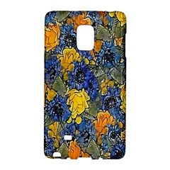 Floral Pattern Background Galaxy Note Edge