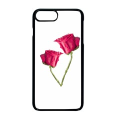 Red Roses Photo Apple Iphone 7 Plus Seamless Case (black)