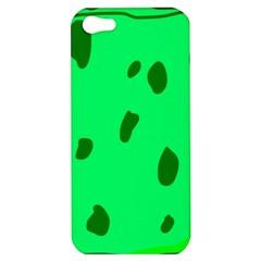 Alien Spon Green Apple Iphone 5 Hardshell Case