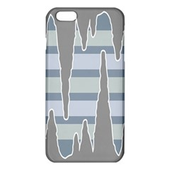 Cavegender Pride Flag Stone Grey Line Iphone 6 Plus/6s Plus Tpu Case