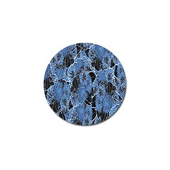Floral Pattern Background Seamless Golf Ball Marker (4 Pack)