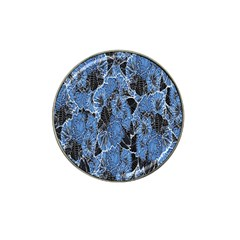 Floral Pattern Background Seamless Hat Clip Ball Marker (10 Pack)
