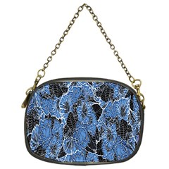 Floral Pattern Background Seamless Chain Purses (one Side)