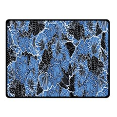 Floral Pattern Background Seamless Fleece Blanket (small)
