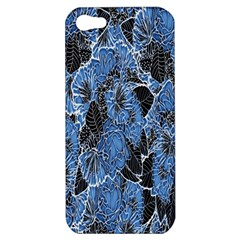 Floral Pattern Background Seamless Apple iPhone 5 Hardshell Case