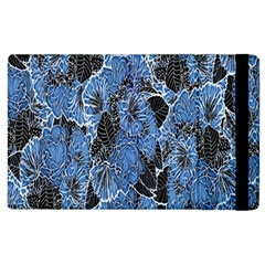 Floral Pattern Background Seamless Apple iPad 2 Flip Case