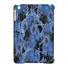 Floral Pattern Background Seamless Apple iPad Mini Hardshell Case (Compatible with Smart Cover)
