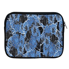 Floral Pattern Background Seamless Apple iPad 2/3/4 Zipper Cases