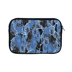 Floral Pattern Background Seamless Apple iPad Mini Zipper Cases