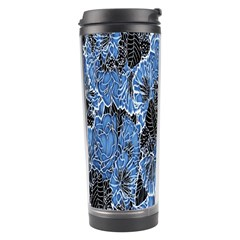 Floral Pattern Background Seamless Travel Tumbler