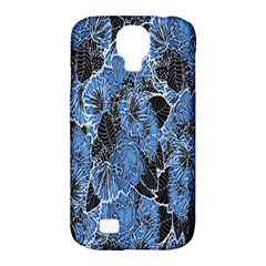 Floral Pattern Background Seamless Samsung Galaxy S4 Classic Hardshell Case (PC+Silicone)