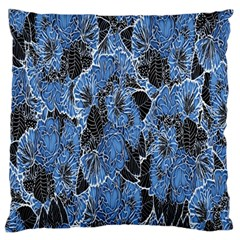 Floral Pattern Background Seamless Standard Flano Cushion Case (Two Sides)