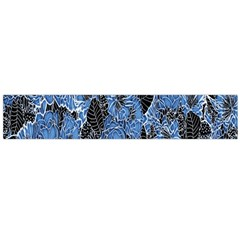 Floral Pattern Background Seamless Flano Scarf (large)