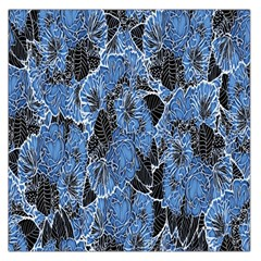 Floral Pattern Background Seamless Large Satin Scarf (Square)