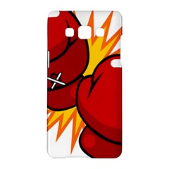 Boxing Gloves Red Orange Sport Samsung Galaxy A5 Hardshell Case