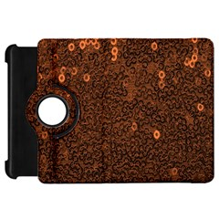 Brown Sequins Background Kindle Fire Hd 7
