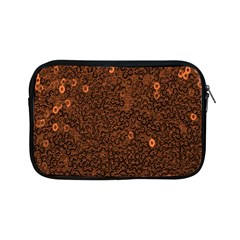 Brown Sequins Background Apple Ipad Mini Zipper Cases