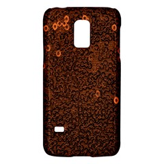 Brown Sequins Background Galaxy S5 Mini