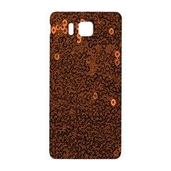 Brown Sequins Background Samsung Galaxy Alpha Hardshell Back Case