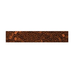 Brown Sequins Background Flano Scarf (Mini)