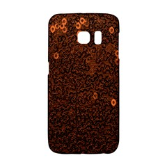 Brown Sequins Background Galaxy S6 Edge