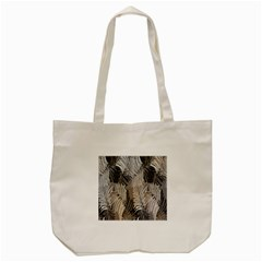 Floral Pattern Background Tote Bag (Cream)