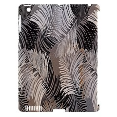 Floral Pattern Background Apple iPad 3/4 Hardshell Case (Compatible with Smart Cover)