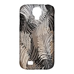 Floral Pattern Background Samsung Galaxy S4 Classic Hardshell Case (PC+Silicone)