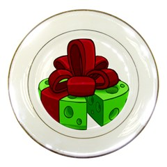 Cheese Green Porcelain Plates