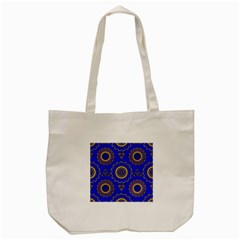 Abstract Mandala Seamless Pattern Tote Bag (cream)
