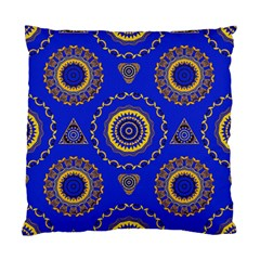 Abstract Mandala Seamless Pattern Standard Cushion Case (two Sides)