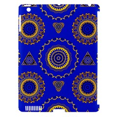 Abstract Mandala Seamless Pattern Apple iPad 3/4 Hardshell Case (Compatible with Smart Cover)