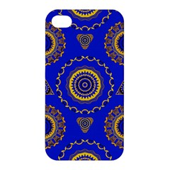 Abstract Mandala Seamless Pattern Apple iPhone 4/4S Premium Hardshell Case