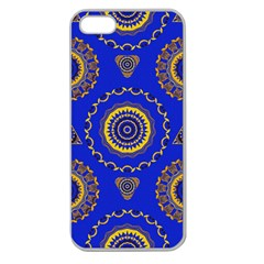 Abstract Mandala Seamless Pattern Apple Seamless iPhone 5 Case (Clear)