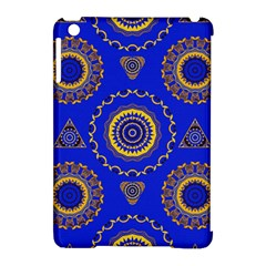 Abstract Mandala Seamless Pattern Apple iPad Mini Hardshell Case (Compatible with Smart Cover)
