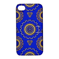 Abstract Mandala Seamless Pattern Apple iPhone 4/4S Hardshell Case with Stand