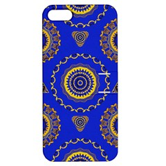 Abstract Mandala Seamless Pattern Apple iPhone 5 Hardshell Case with Stand