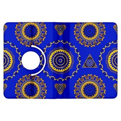 Abstract Mandala Seamless Pattern Kindle Fire HDX Flip 360 Case