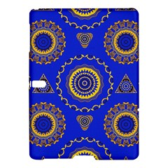 Abstract Mandala Seamless Pattern Samsung Galaxy Tab S (10 5 ) Hardshell Case