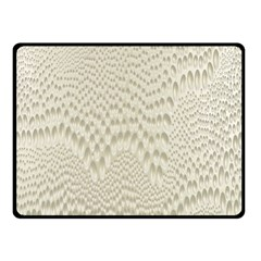 Coral X Ray Rendering Hinges Structure Kinematics Double Sided Fleece Blanket (small)