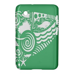 Fish Star Green Samsung Galaxy Tab 2 (7 ) P3100 Hardshell Case