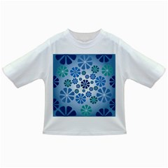 Geometric Flower Stair Infant/toddler T Shirts