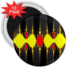Hyperbolic Complack  Dynamic 3  Magnets (10 Pack)
