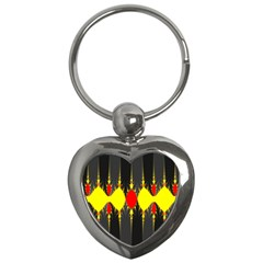 Hyperbolic Complack  Dynamic Key Chains (heart)