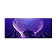 Lines Lights Space Blue Purple Cosmetic Storage Cases