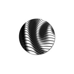 Metallic Waves Golf Ball Marker (4 Pack)