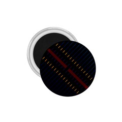 Material Design Stripes Line Red Blue Yellow Black 1 75  Magnets