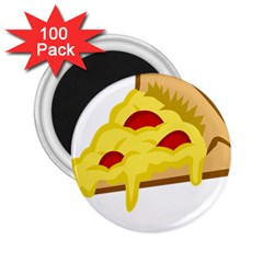 Pasta Salad Pizza Cheese 2 25  Magnets (100 Pack)